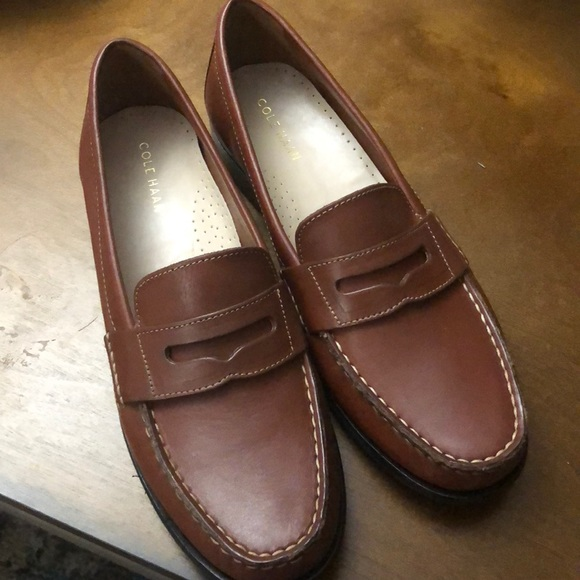 fd3bbca7056 Cole Haan Shoes - NEW!! Cole Haan Womens Leather Loafers 7.5